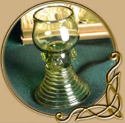 Roemer small glass goblet